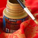 Pintura para tela PEBEO opaca y tonos metálicos