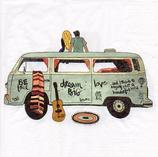 Servilletas con ilustraciones de transportes
