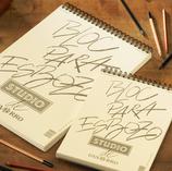 Papel para dibujo técnico y para esbozo artístico, ideal para técnicas secas