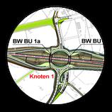 Grafik: Straßenplanung, Tiefbauplanung,  Verkehrsanlagenplanung