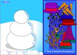 sneeuwpop aankleden