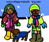 geef iedereen warme kleren