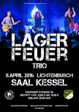 Grafik: Lagerfeuer Trio