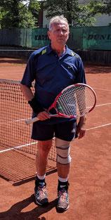Rolf Sperling lieferte das spannendste Match des Tages.