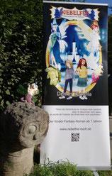 Die Anmeldung ist durch und die Bücher sind auf dem Weg nach Frankfurt. Das Kinderbuch NEBELFEE wird 2019 auf der Frankfurter Buchmesse ausgestellt.