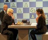Heino spielt Schach gegen Melanie Lubbe (Ohme) bei Maischberger