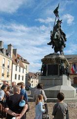 Place Guillaume Le Conquérant à Falaise