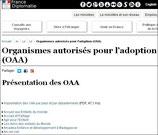 Liste complète des OAA