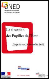 Rapport Pupilles de l'Etat 2012