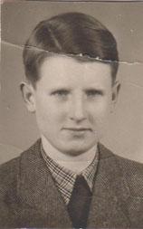 Wilhelm Schray als junger Erwachsener