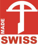 Logo von Swiss-made, Zeichen für Qualität und Herkunft von der Schweiz