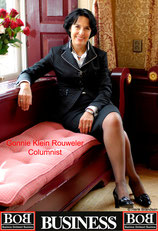 Gonnie Klein Rouweler, Columnist Business Ontmoet Business