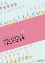 Geburtstagskalender Illustrationen Studio Keregan