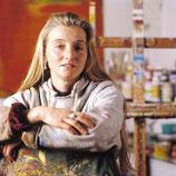 Sabine Wenig in ihrem Atelier in Bielefeld