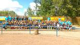 alle Teilnehmer des 10. HSC Fußballcamps