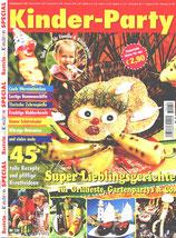 Titelbild Basteln mit Kindern, Sonderausgabe Kinder-Party
