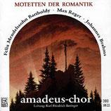 CD-Cover Motetten der Romantik, Amadeus-Chor unter der Leitung von Karl-Friedrich Beringer