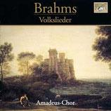 CD-Cover Brahms Volkslieder, Amadeus-Chor unter der Leitung von Nicol Matt, Brilliant Classics 2003