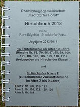 Hirschbuch 2013