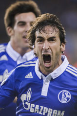 Der Schalker Raul kam 2011 von allen unbemerkt mit einem 22-Punkt-Käfer in Berührung.