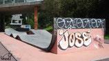 Skate à Rennes, woops de la Courrouze