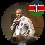 Mr Kimani Stephen, MBA Japan Alumni from Kenya.