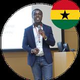 Mr Eric Ofosu-Twum, PhD Japan Alumni from Ghana