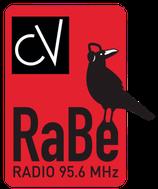 Logo radio RaBe. Hyperlien.