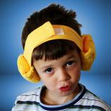 Grössenverstellbares Ohrenwehband