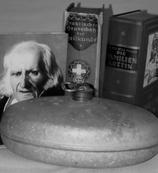 Sanduhr, Symbolisch für Geschichte