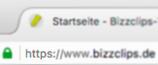 Sichere Verbindung mit Bizzclips