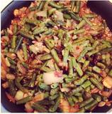 "Vegetable ""Fried"" Rice with Almond-Teriyaki Sauce"