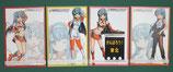 オリジナルポストカード4種セット(後半戦)