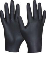 Fino Nitril-Einweghandschuhe schwarz 50 Stk./Box Größe M