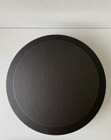 Tortenplatte schwarz 24cm