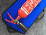 Feuerlöschertasche für alle gängigen 2kg CO2 Feuerlöscher