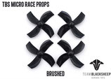 TBS MICRO RACE PROPS  (0.75MM HUB) - 4pc. set