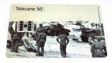Télécarte 50 1944-1994 50ème anniversaire des débarquements et de la libération de la France