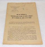 Note sur l'utilisation de l'instruction pour les unités de Fusiliers-Voltigeurs pour la formation des cadres et des troupes 1945 français WW2