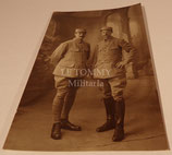 Carte postale photo officiers 6ème Régiment d'Infanterie français WW1