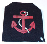 Insigne de spécialité Personnel de pont Marine ZM-FN armée belge