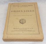 Manuel Administration et comptabilité intérieures des corps de troupe, Ordinaires 1940 français WW2