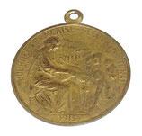 Médaille Journée française Secours National 1915 français WW1