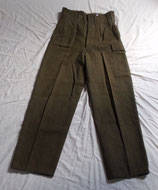 Pantalon BD Battledress (type GB WW2) daté 1959 armée belge ABL