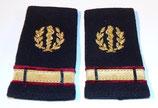 Paire de fourreaux d'épaule Aspirant médecin Service de Santé des Armées SSA armée française