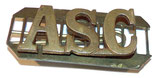 Shoulder title ASC Army Service Corps GB WW1