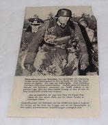Tract ZG20 Général Von Schlieben incitant les soldats allemands de la forteresse Cherbourg à se rendre Normandie 1944 US WW2