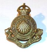 Cap badge Lincoln & Welland Canada WW2