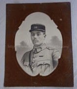 Photo portrait officier français WW1 156ème Régiment d'Infanterie