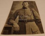 Carte postale photo portrait soldat 51ème Régiment d'Infanterie français WW1